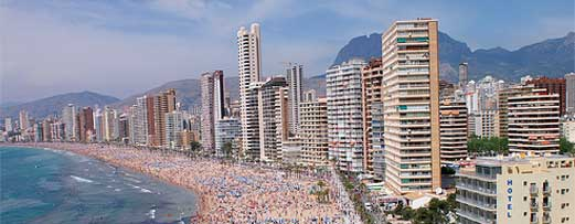 Apartments rent in benidorm large selection of best apartments on rent at the levante beach in - Apartamentos carolina benidorm ...